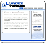 Website Portfolio, Lawrence Plumbing
